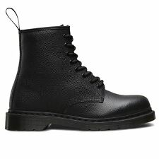 Dr.Martens 1460 8 Eyelet Pebble Black Womens Boots