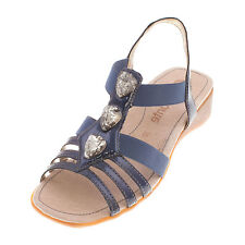 REMONTE Women's Leather Stappy Sandal (R5258-14)