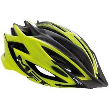 MET Veleno mtb helmet. Flo Yellow and Black.  Large 58-61cm