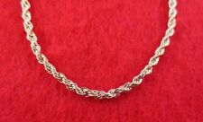 "14KT GOLD EP NECKLACE WITH 8"" BRACELET SET OF  2.5MM  FRENCH ROPE CHAIN"