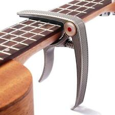 NEW Acoustic/Electric Guitar or Ukulele Trigger Capo Clamp Guitar Accessories
