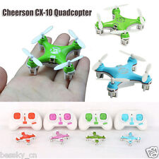 Cheerson CX-10 Mini 2.4Ghz 4CH 6 Axis LED RC Quadcopter Airplane Remote Control
