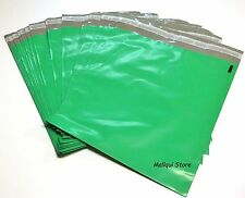 25 GREEN POLY SHIPPING BAGS 10 x 13 MAILING PLASTIC ENVELOPES