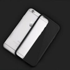 Hard Matte Clear Back Case Soft Silicone TPU Bumper Cover for iPhone 5 SE 6s 6p