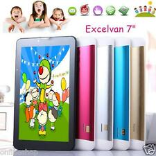 Kids Tablet PC 7'' Dual Core Android 4.4 8GB Bluetooth Camera 1.2Ghz Wi-Fi Lot