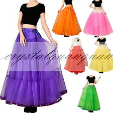 Long Tutu Underskirt Slips Wedding Dress Fancy Net Petticoat Crinoline Tulle