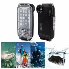 Pro 40m/130ft Diving Housing Waterproof Underwater Case For iPhone 7 / 7Plus【UK】