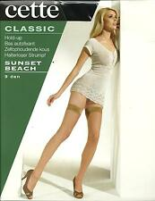 CETTE Classic Sunset Beach 9 Denier Hold Up Stockings - Various Sizes & Colours