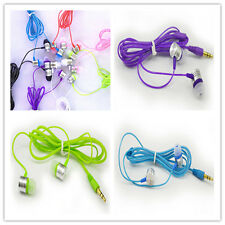 New Hot 3.5mm Stereo In-ear Headset Earbuds Headphone Earphone for Mobile Phone