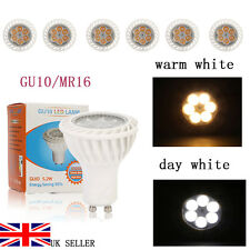 4/6W LED Spot light Bulbs High Power GU10/MR16 Day/Warm White Energy Saving NEW