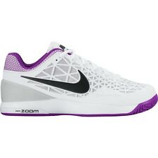 Nike Zoom Cage 2 White/Violet/Black Women's Tennis Shoes