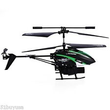 V398 Missile Launching RC Helicopter 3.5Channel IR Remote Control Quadcopter UFO