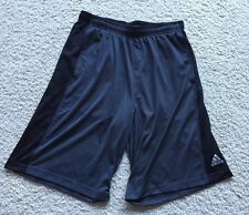 Men's Adidas Athletic Workout Gym Basketball Shorts Medium M Gray with Pockets