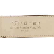 MARTIN MARGIELA MM11 Men Violet Leather Belt New with Tags and Original