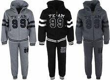 Boys Jogging Suits Hoodie Jacket & Jogging Bottoms Kids Clothes Ages 4-12 Years