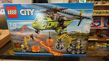 Lego City 60123 Volcano Supply Helicopter - BRAND NEW