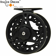 5/6/7/8WT Fly Fishing Reel Large Arbor Silver/Black Aluminum Fly Reel With Spool