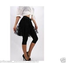 GUESS by Marciano Ashtyn Leggings Lace Skirt Attached Black Size XXS 2XS