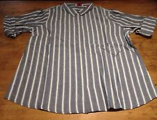 Lurex Stripe Shirt, Pale Blue  - BNWT