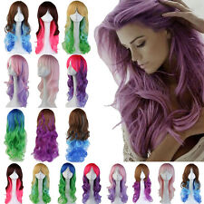 """24"""" Synthetic Hair Wig Long Curly Full Wigs Cosplay Halloween Fancy Dress US Wig"""
