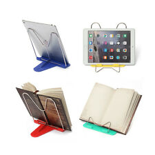 Adjustable Angle Foldable Portable Reading Book Stand Document Holder P BU
