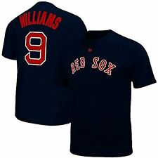Ted Williams Boston Red Sox Majestic Player Jersey Tee Shirt Mens Size 5XL & 6XL