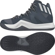 ADIDAS CRAZY BOUNCE MEN'S BASKETBALL SHOES (B72765) ONIX***NEW***