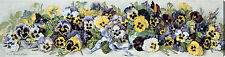 Study of Pansies by Grace Barton Allen (:Stretched Canvas Print of Vintage Art:)