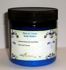 Cocoa & Shea Butter Hand & Body Cream Lotion Natural Dry Skin Moisturizer 8oz