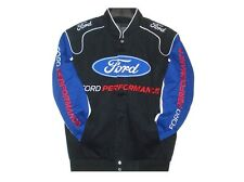 2017 Authentic Ford Performance Embroidered Cotton Jacket JH Design Black New