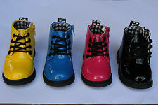 Funky boots / shoes for children kids toddlers baby sizes 5 7 8 (21 23 25)