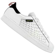 LIMITED ADIDAS ORIGINALS SUPERSTAR 80s SHIELD SNEAKER 2 SHOES SNEAKERS WHITE