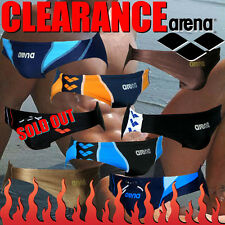Arena Men's Low-Rise Competition Swimwear Swimsuit (Swim briefs) CLEARANCE