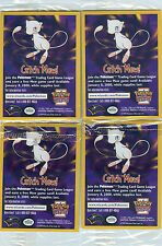 POKEMON FULL SET OF 4 1999 UNOPENED PROMO MOVIE CARDS
