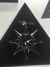 "SWAROVSKI 3"" Snowflake Christmas Ornament 2009 in Box w COA MINT Collectible"