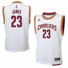 adidas LeBron James Cleveland Cavaliers Youth Replica Home Jersey - NBA