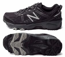 NEW BALANCE Men's MT410BS4  Black/Silver TRAIL RUNNING Shoes Sizes 7.5 thru 13