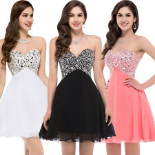 Mini Short Party Evening Dress Ball Formal Prom Dress Wedding Gown Customized