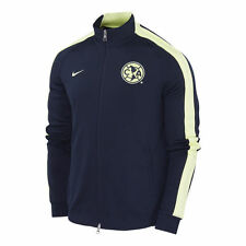 NIKE CLUB AMERICA AUTHENTIC N98 TRACK JACKET Obsidian/Yellow.