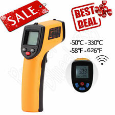 Infrared Thermometer Non-Contact Gun Laser IR Point Digital LCD Temperature MP