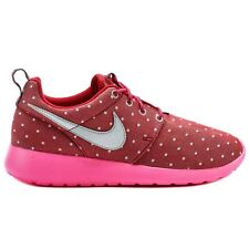 Nike Roshe Run Print Pink Youths Trainers