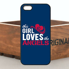 Hot Girl Love MLB Los Angeles Angels Team Case Cover For iPhone & Samsung Series