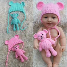 Knitting Patterns For Baby Dolls Clothes Old Style : Vintage Knit & Crochet Pattern Doll Clothes Fashion Doll Baby Doll Clothi...