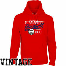 Ole Miss Rebels Ballpark Pullover Hoodie - Cardinal - College