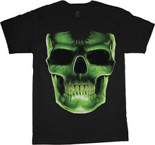 Skull t-shirt for men giant skull men's tee shirt biker gothic halloween decal