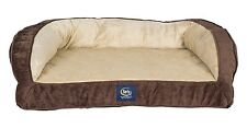 Dog Bed Orthopedic Large Seat Pet Sofa Puppy Home Sleep Polar Quilted Couch