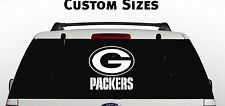 GREEN BAY PACKERS Window Decal Graphic Sticker NFL Car Truck Suv Van choose Size