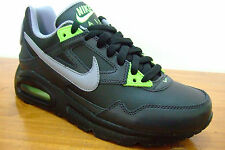 ORIGINAL BOYS NIKE AIR MAX SKYLINE BLACK LEATHER SPORTS CASUAL TRAINERS UK SZ 3