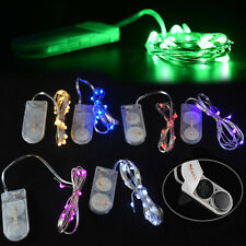 New 10/20 LED String Fairy Lights Battery Operated Xmas Party Wedding Room Decor