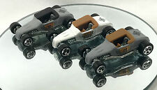 Hot Wheels 2007 Mystery Car 3 Variations - TRACK T - Rare Gray w/Tan cover